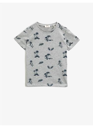 Koton T-shirt Gri